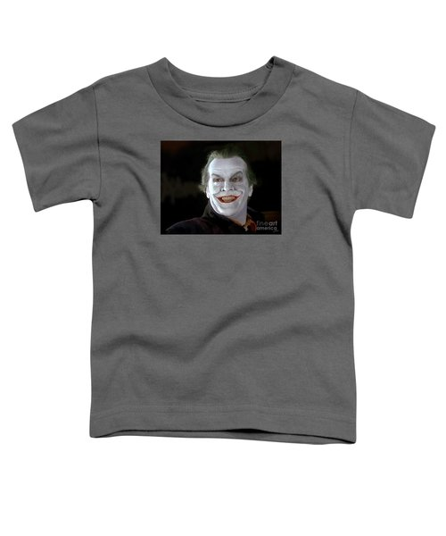 The Joker Toddler T-Shirt by Paul Tagliamonte