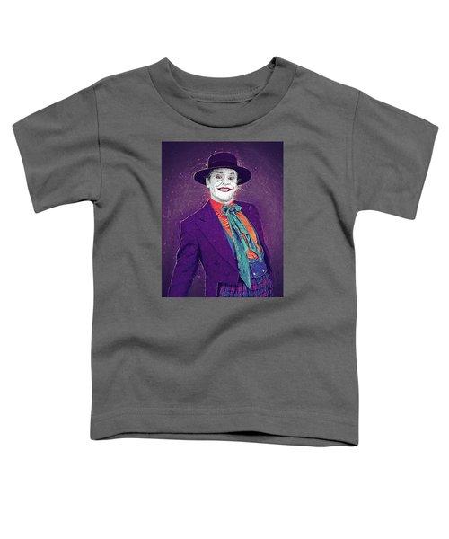 The Joker Toddler T-Shirt by Taylan Soyturk