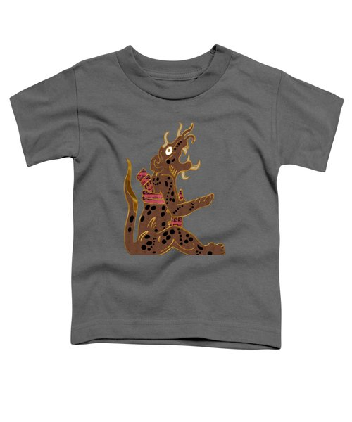 The Leopard Man Mayan Toddler T-Shirt by Sharon and Renee Lozen
