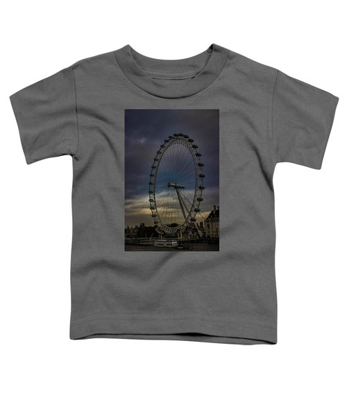 The London Eye Toddler T-Shirt by Martin Newman