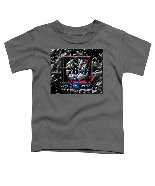 The Philadelphia 76ers Toddler T-Shirt by Brian Reaves