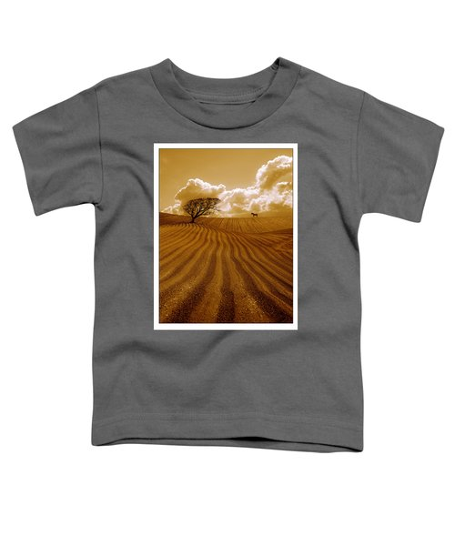 The Ploughed Field Toddler T-Shirt by Mal Bray
