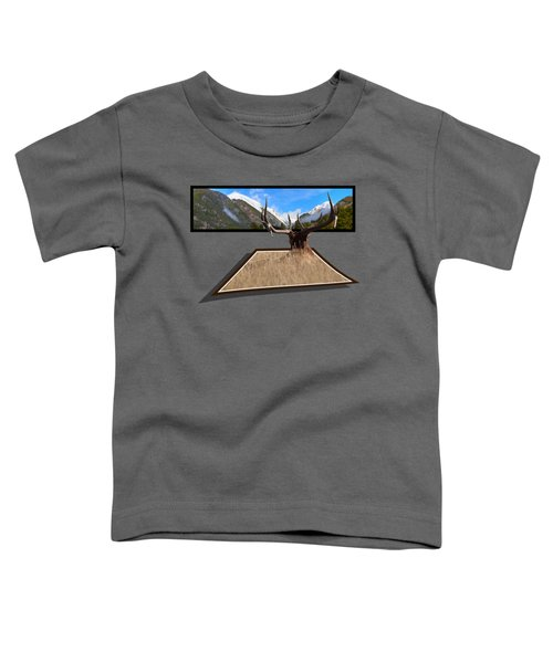 The View Toddler T-Shirt by Shane Bechler