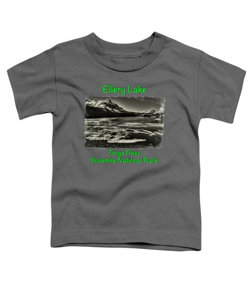 Tioga Pass Lake Ellery Early Summer Toddler T-Shirt by Roger Passman