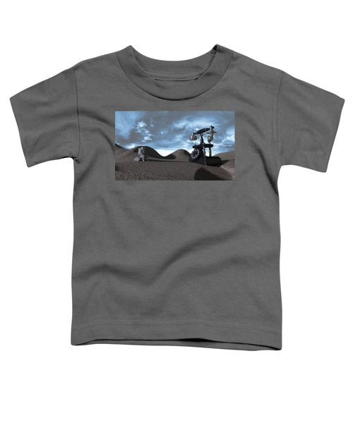 Tomorrow Morning Toddler T-Shirt by Brainwave Pictures