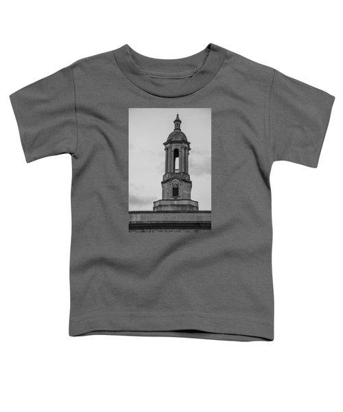 Tower At Old Main Penn State Toddler T-Shirt by John McGraw