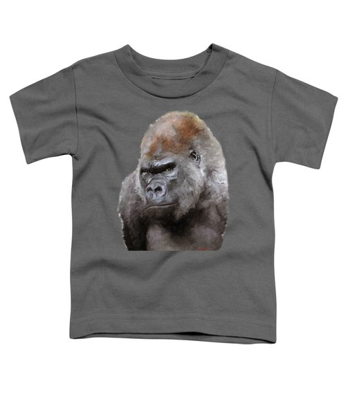 U Lookin At Me Toddler T-Shirt by James Shepherd