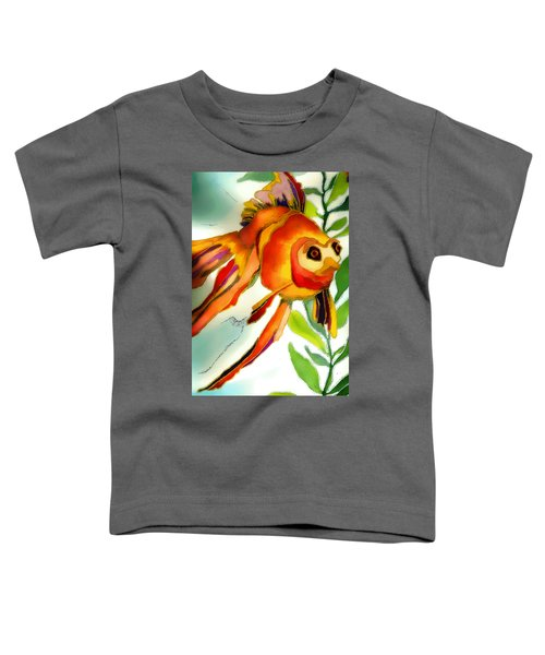 Underwater Fish Toddler T-Shirt by Lyn Chambers