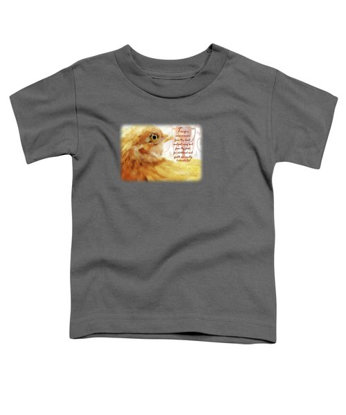 Vanity Fair - Verse Toddler T-Shirt by Anita Faye