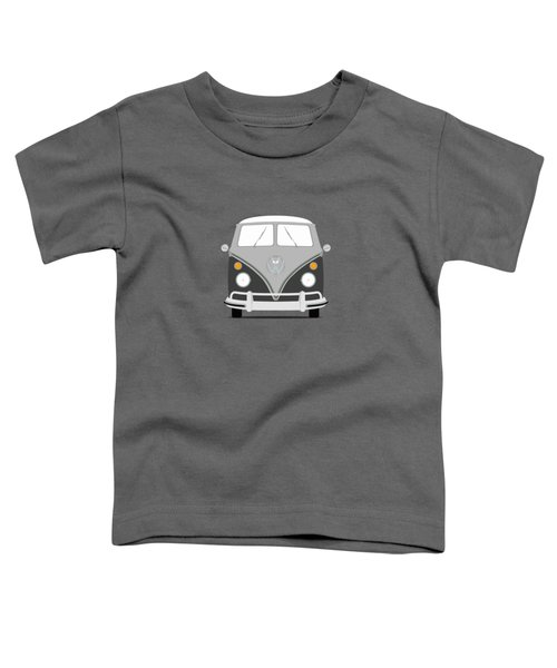 Vw Bus Grey Toddler T-Shirt by Mark Rogan