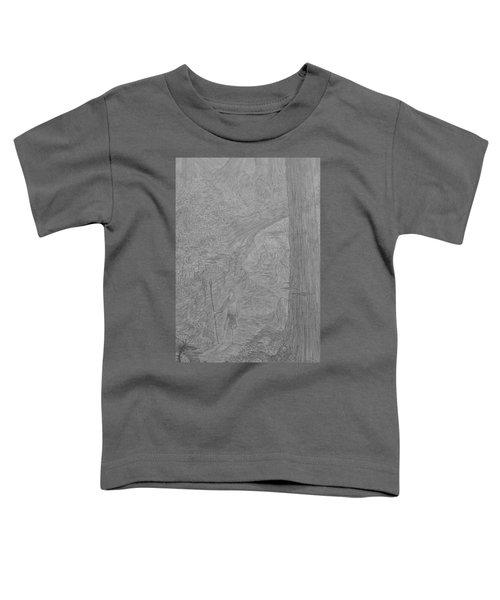 Wayward Wizard Toddler T-Shirt by Corbin Cox