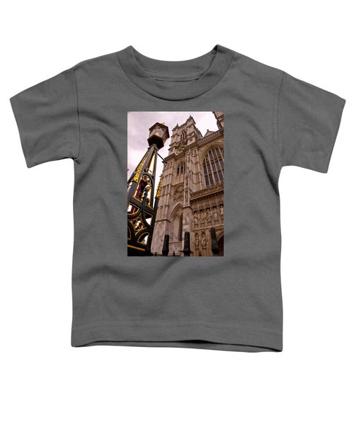 Westminster Abbey London England Toddler T-Shirt by Jon Berghoff
