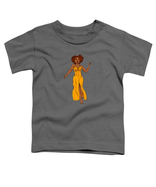 What Queens Do Toddler T-Shirt by Deanna Nardy