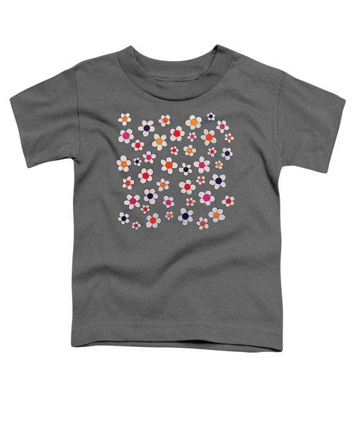 Woodflock Remix Toddler T-Shirt by Oliver Johnston