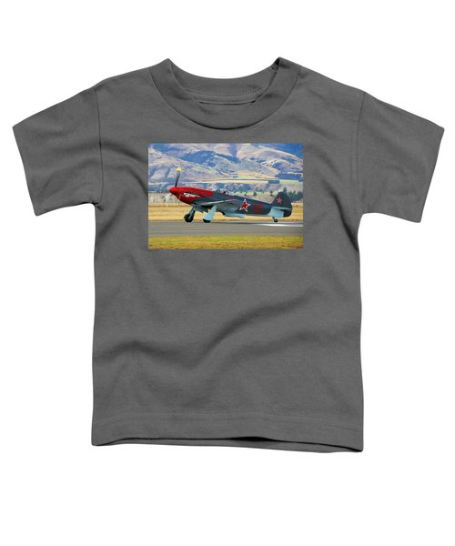 Yakovlev Yak 3-m Toddler T-Shirt by Bernard Spragg
