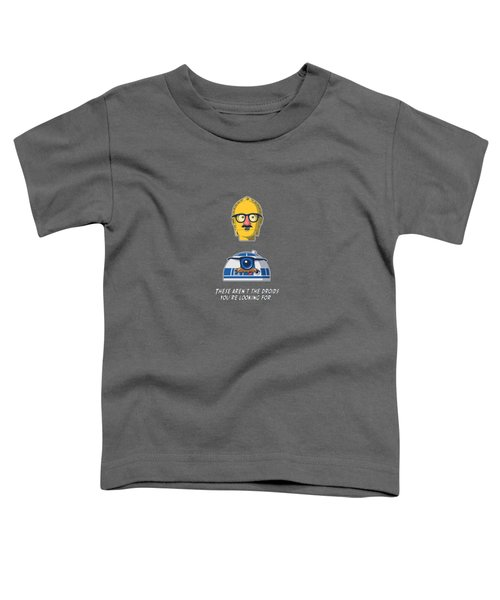 Yellow Head Starwars Toddler T-Shirt by Mentari Surya