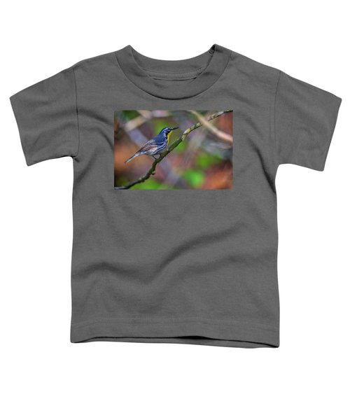 Yellow-throated Warbler Toddler T-Shirt by Rick Berk
