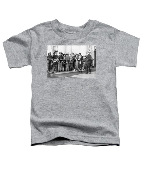 Cowboy Band, 1929 Toddler T-Shirt by Granger