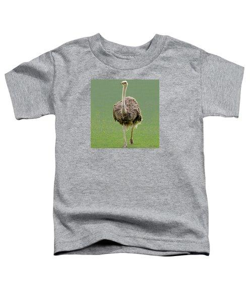 Emu Toddler T-Shirt by Ellen Henneke