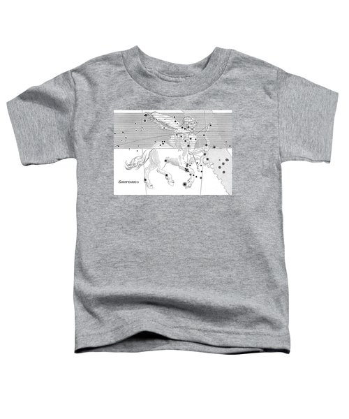 Sagittarius Constellation Zodiac Sign Toddler T-Shirt by Science Source