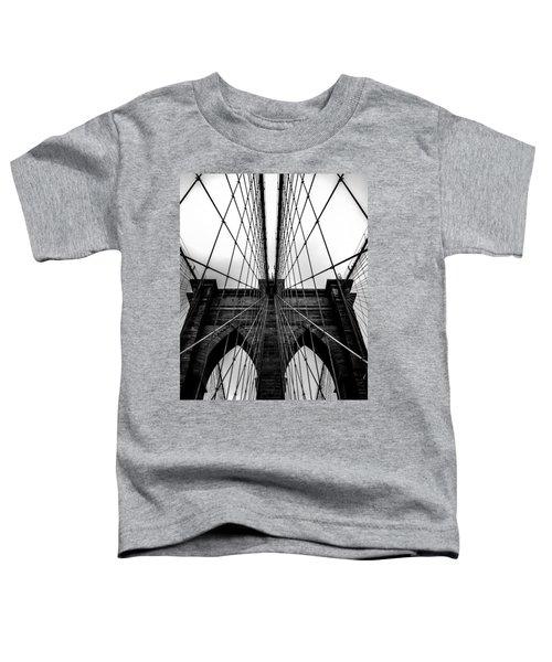 A Brooklyn Perspective Toddler T-Shirt by Az Jackson