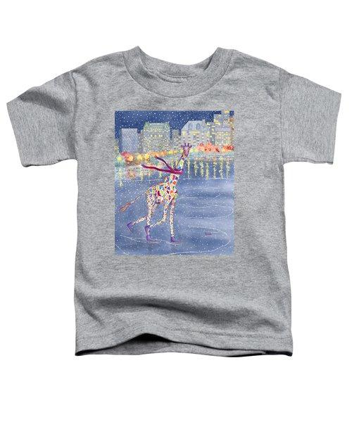 Annabelle On Ice Toddler T-Shirt by Rhonda Leonard