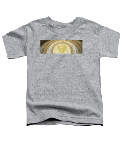 Ceiling Of The Dome Of The Texas State Toddler T-Shirt by Panoramic Images