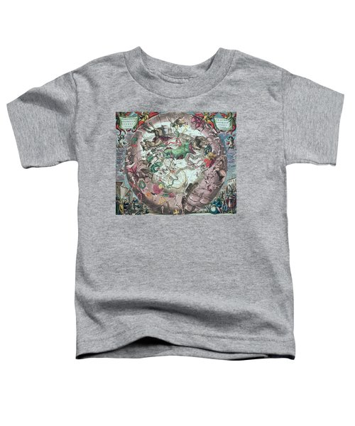 Constellations Of The Southern Hemisphere, From The Celestial Atlas, Or The Harmony Of The Universe Toddler T-Shirt by Andreas Cellarius