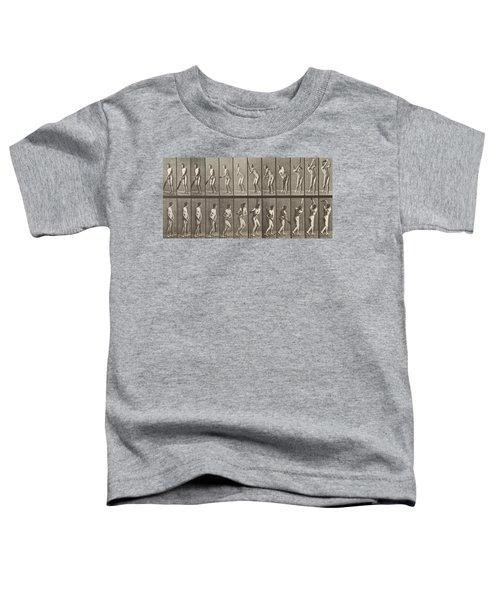 Cricketer Toddler T-Shirt by Eadweard Muybridge
