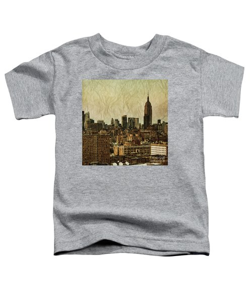 Empire Stories Toddler T-Shirt by Andrew Paranavitana
