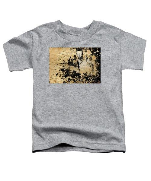 Eric Clapton 3 Toddler T-Shirt by Bekim Art