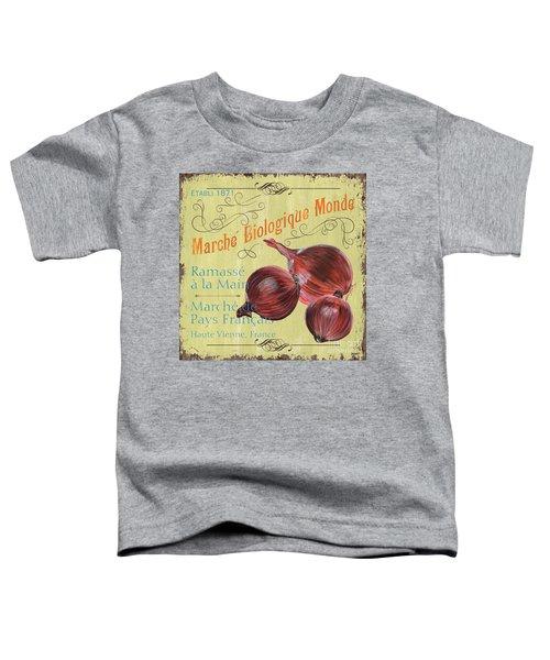 French Market Sign 4 Toddler T-Shirt by Debbie DeWitt