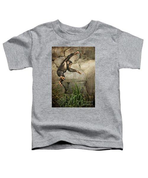 Jump For Joy Toddler T-Shirt by Jamie Pham