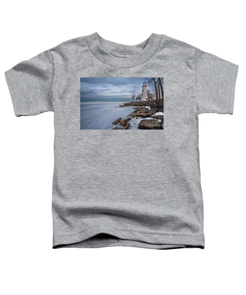 Marblehead Lighthouse  Toddler T-Shirt by James Dean