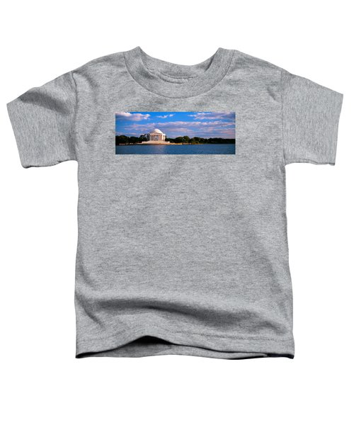 Monument On The Waterfront, Jefferson Toddler T-Shirt by Panoramic Images