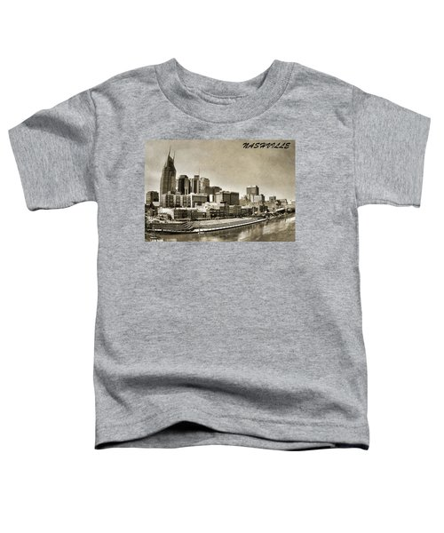 Nashville Tennessee Toddler T-Shirt by Dan Sproul