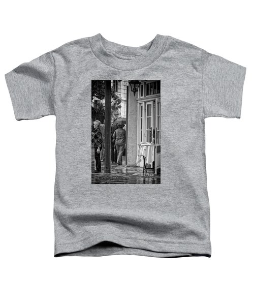 Rainy Day Lunch New Orleans Toddler T-Shirt by Kathleen K Parker