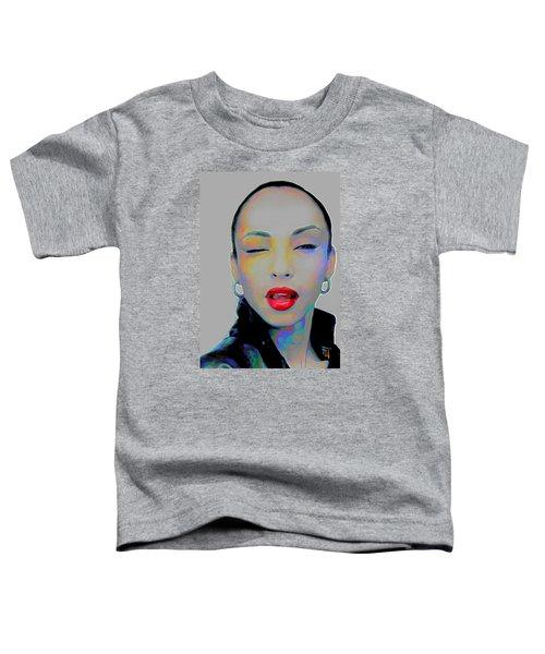 Sade 3 Toddler T-Shirt by  Fli Art