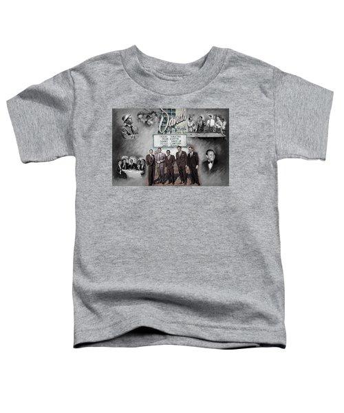 The Rat Pack Toddler T-Shirt by Viola El
