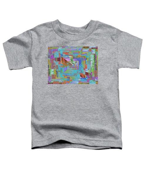Topographic Albatross Toddler T-Shirt by Tim Allen