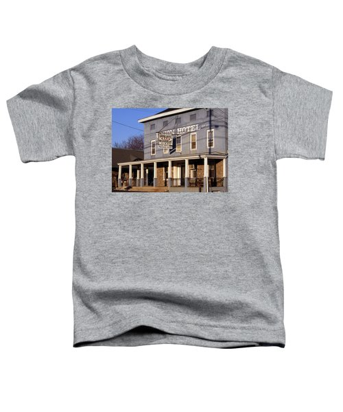 Union Hotel Toddler T-Shirt by Skip Willits