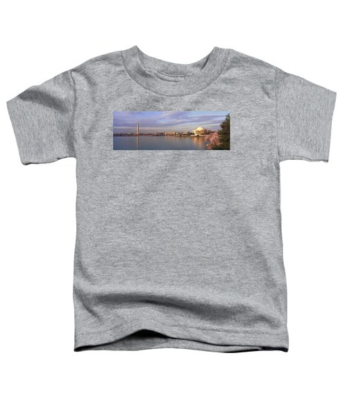 Usa, Washington Dc, Tidal Basin, Spring Toddler T-Shirt by Panoramic Images