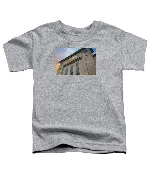 Yankee Stadium Toddler T-Shirt by Stephen Stookey