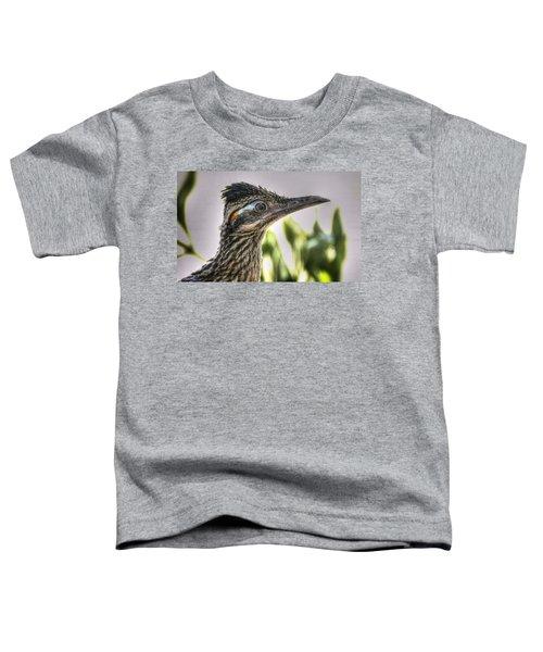Roadrunner Portrait  Toddler T-Shirt by Saija  Lehtonen
