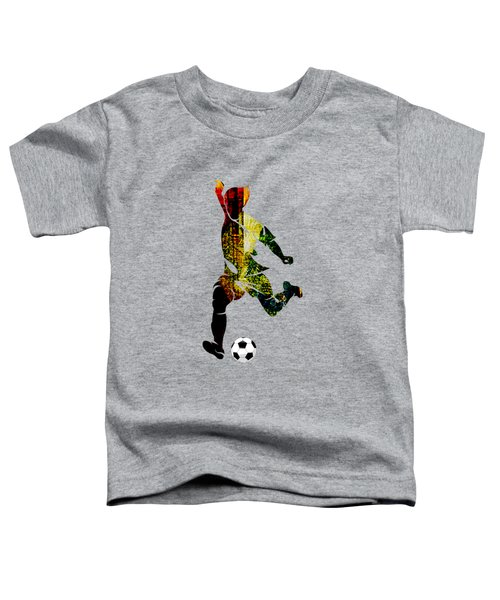 Soccer Collection Toddler T-Shirt by Marvin Blaine