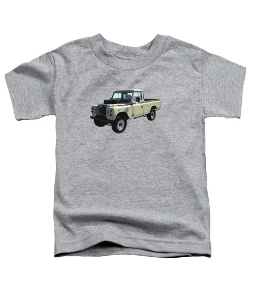 1971 Land Rover Pickup Truck Toddler T-Shirt by Keith Webber Jr