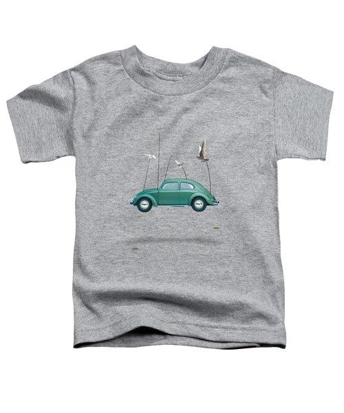 Cars  Toddler T-Shirt by Mark Ashkenazi
