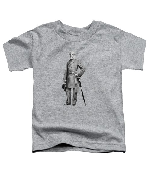 General Robert E. Lee Toddler T-Shirt by War Is Hell Store