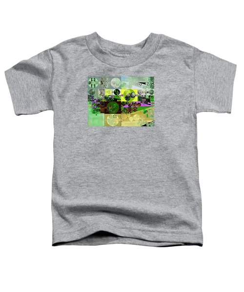 Abstract Painting - Black Bean Toddler T-Shirt by Vitaliy Gladkiy