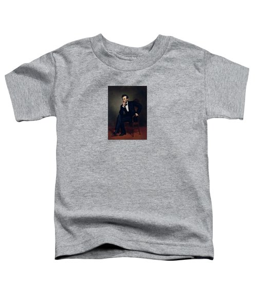 President Abraham Lincoln Toddler T-Shirt by War Is Hell Store
